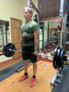 John deadlifting
